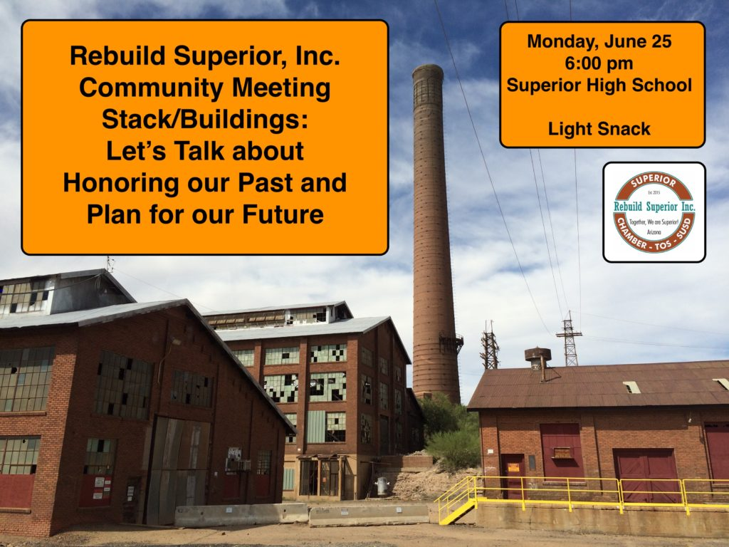 Rebuild Superior Community Meeting June 25, 2018