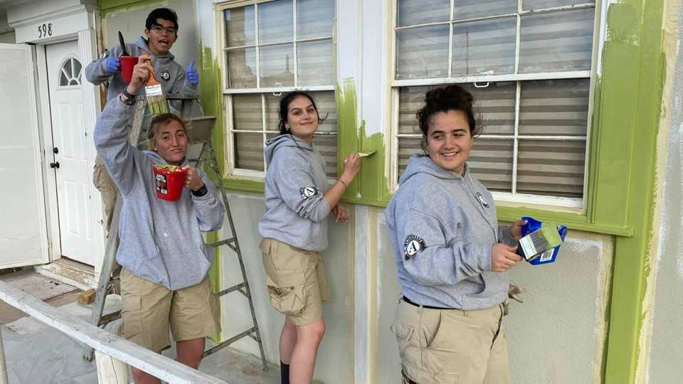Martin Luther King Day AmeriCorps Work