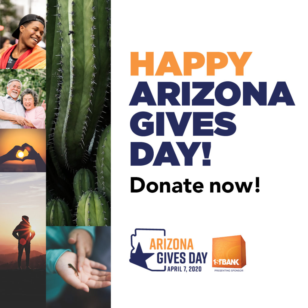 AZ Gives Day 2020 Donate Now